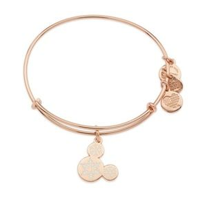 Mickey Mouse Snowflake Icon Bangle